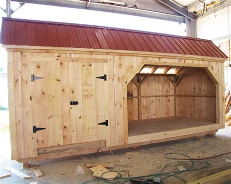 Firewood Shed Kit by Large Shed Plans Shed With Wood Storage Wooden Storage