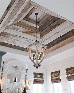 12 Recycled Pallet Wood Ceiling Designs Pallets Designs