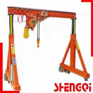 China Manual Portal Crane 5ton