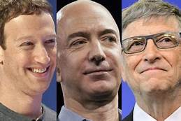 In 2018 U.S. Billionaires gave half of what they gave to charity in 2017…