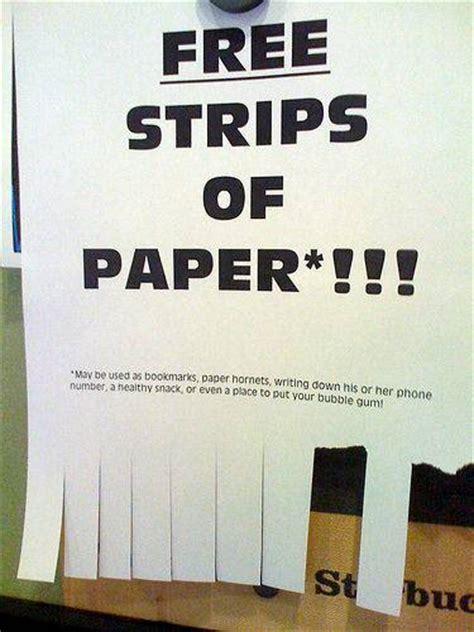 strips  paper joke overflow joke archive