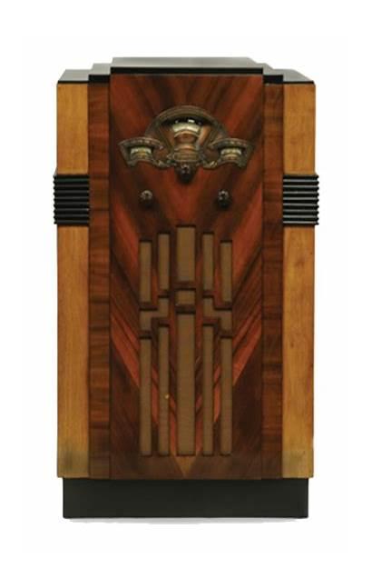Radio Radios 1935 Essanay Tube Wood Antique