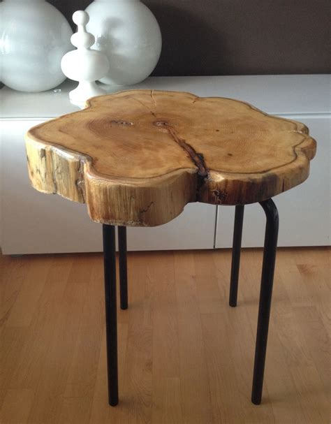 Hairpin leg diy live edge wood coffee table last week, i finally made myself a furniture dolly so i can get crackin' on what i love most, furniture makeovers! Live Edge Table with hairpin legs, Live Edge Coffee table ...