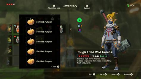 recipes  zelda breath   wild games