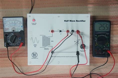 Half Wave Rectifier Circuit Working Operation