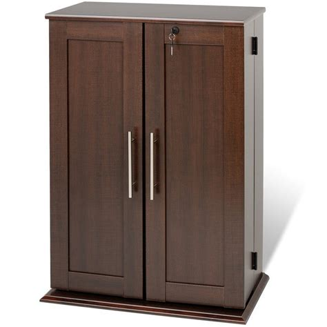 dresser and hutch media storage cabinet with doors in media storage cabinets