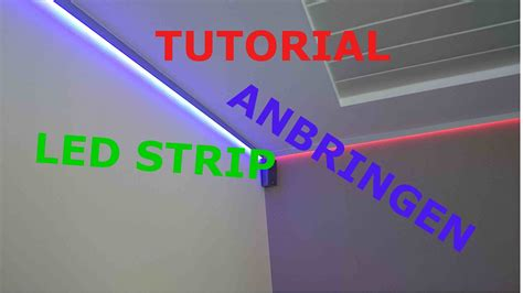 Streifen Als Raumbeleuchtung by Tutorial Led Stripes Anbringen
