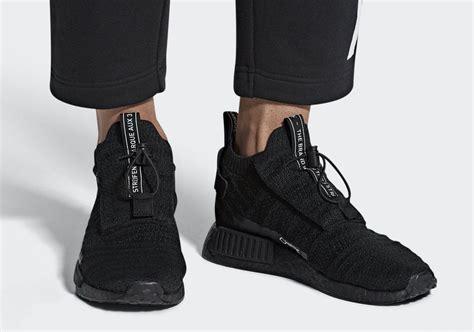 """adidas NMD_TS1 Gore-Tex """"Triple Black"""" 2018 - JustFreshKicks"""