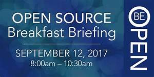 You're Invited: Open Source Breakfast Briefing