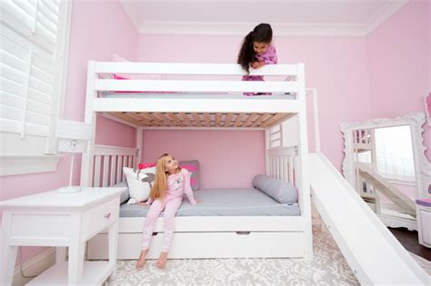 Add A Slide To Your High Bunk Bed With The Poof!