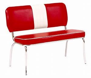 Sitzbank Weiß Mit Lehne : 2x sitzbank peter verchromt rot wei 48x45x100 cm mit lehne 2er set sitzgruppe ebay ~ Indierocktalk.com Haus und Dekorationen