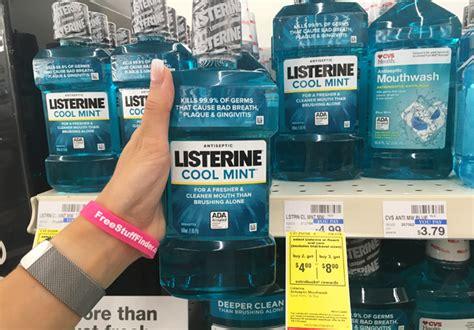 listerine cool mint mouthwash    cvs reg