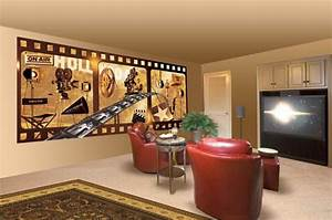 Photo Collection Theater Wallpaper Border