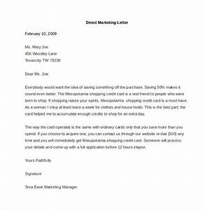 marketing letter template 38 free word excel pdf With direct marketing letter