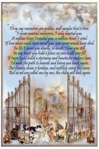 the rainbow bridge poem for cats mona prissy and weenie prayers needed another