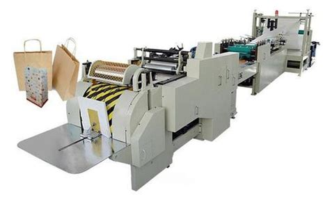 paper bag making machine groceries paper bag making