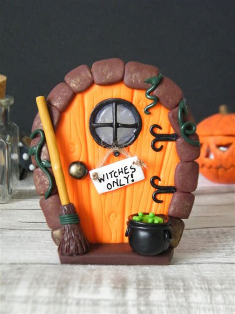 halloween decorations clay ideas