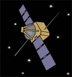 Clipart - Spacecraft - Solar Panels