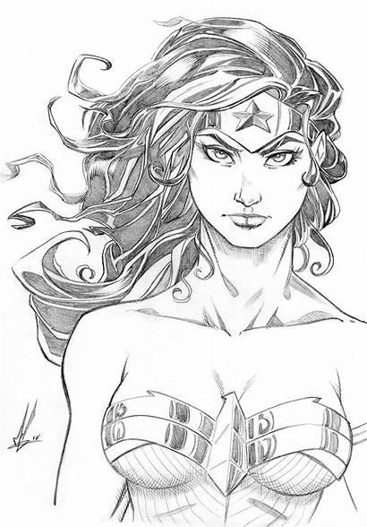 Wonder Woman Marc Huizinga Artstation Drawing Drawings