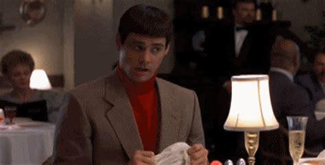 lloyd christmas throws down napkin gifrific