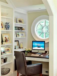 57 cool small home office ideas digsdigs for Small home office