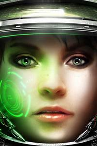 Starcraft 2 Medic Closeup IPhone Wallpaper Free Download