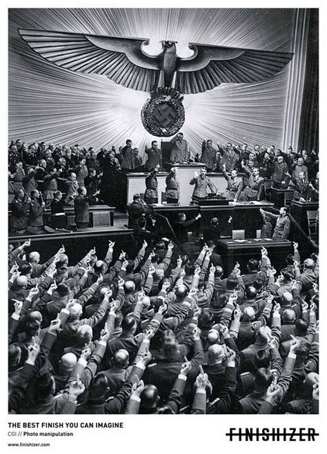 ads hitler fail print ad creative funny advertising direction history advertisement controversial manipulation manipulations changing far dec brand poster magazine