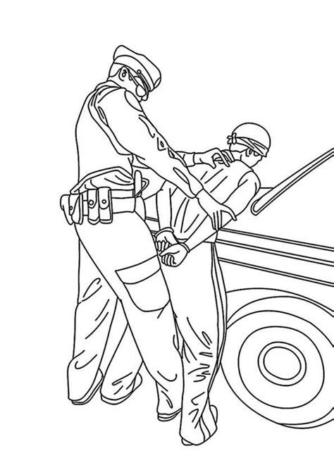 polizei  ausmalbilder kostenlos