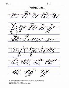 cursive letters a z basic handwriting for kids cursive With cursive letters and numbers