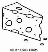 Cheese Clipart Clip Simple Drawing Illustrations Illustration Milk Clipground Cliparts Vector Drawings Slices Graphic Canstockphoto Portal sketch template
