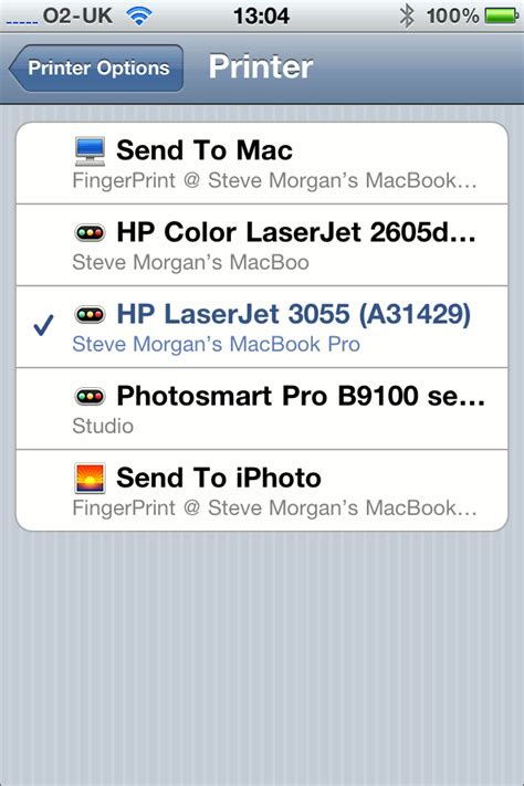 how to setup printer on iphone printing from an iphone without airprint