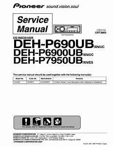 Pioneer Deh P4200ub Installation Manual