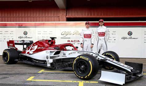 Alfa Romeo Racing Pokazao Trkaći Izgled F1 Bolida Za 2019