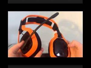 ASTRO Gaming Neon Color Series A40 Headset Kit Orange
