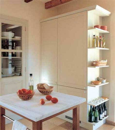 kitchen shelves decorating ideas decorating with food 14 modern kitchen cabinets and wall