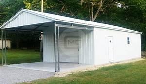18 Width Garage Buildings Metal Garages Plans Structures