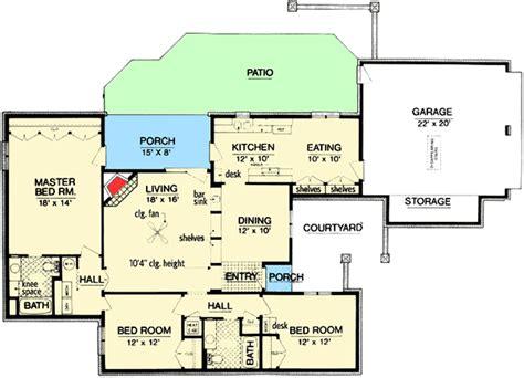 floor plans zero lot line zero lot line house plan 55154br architectural designs house plans