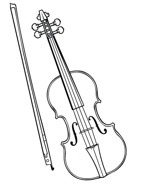 violin drawing    ayoqq cliparts