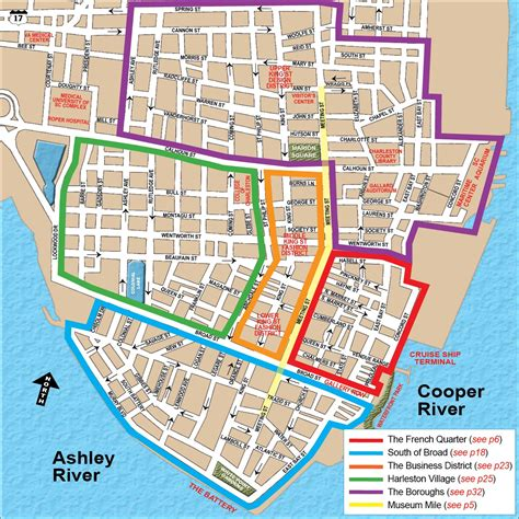 charleston historic district map preservation