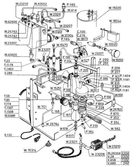 Espresso Maker Schematic by Espresso Machine Schematic Coffee Effects And Diagrams