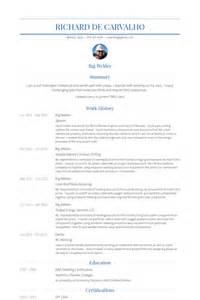Rig Resume Format by Welder Resume Sles Visualcv Resume Sles Database