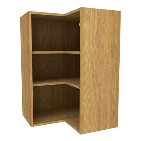 oak effect kitchen cabinets cooke lewis oak effect corner wall cabinet w 625mm 3567