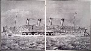 Cross-section Of Titanic Photograph by Granger