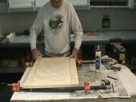 how to make flat panel cabinet doors how to make a flat panel cabinet door youtube