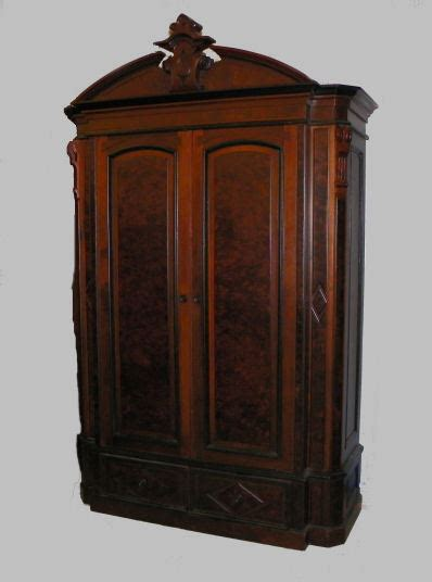 Armoire Vintage Ebay by Antique Walnut Victorian Wardrobe Armoire Ebay