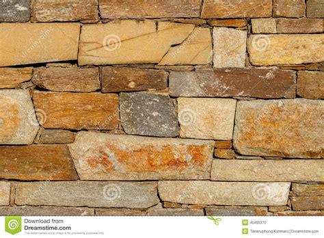 Large Stone Wall Texture Stock Photo  Image 45465370