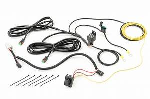 Quadratec 4 U0026quot  Round Led Lights With Wiring Harness