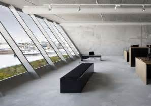modern industrial office interior design bold industrial office design for media agency freshome com