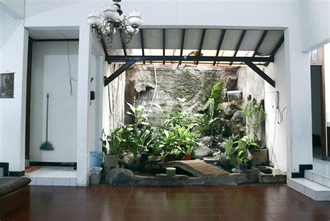 gambar taman  rumah ukuran kecil mungil rumah impian