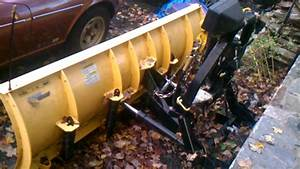 8ft Fisher Minute Mount Plow